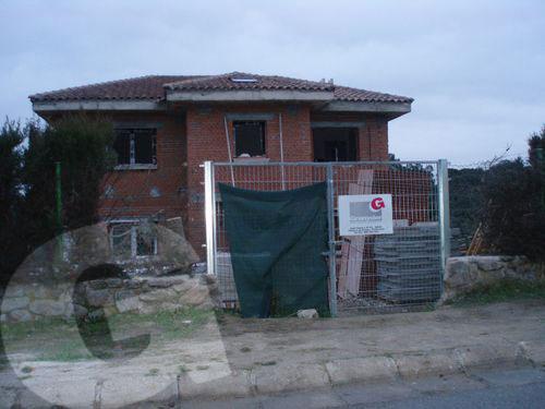 colocación de fachada en granito silvestre