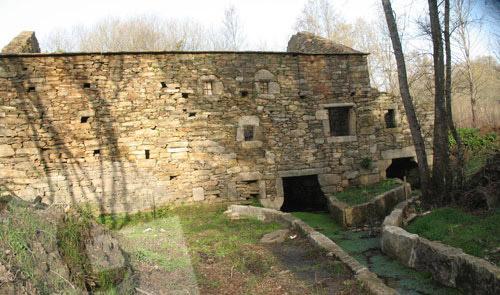restauración de molino de piedra