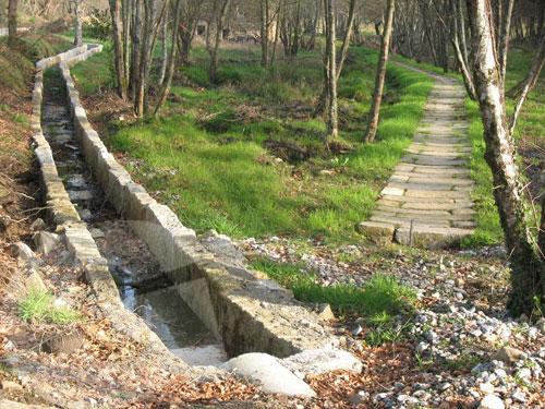 Rehabilitación canal antiguo molino de piedra